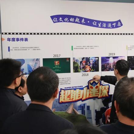 国家市场监管总局发展研究中心主任谢冬伟一行调研文创企业贝贝依依