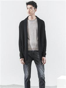 1943S男装时尚气质开衫