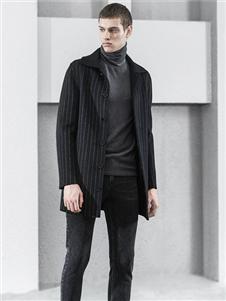 1943S男装新款气质条纹外套