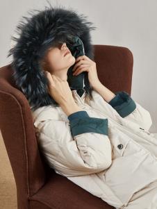 丽芮冬季新款女装羽绒服
