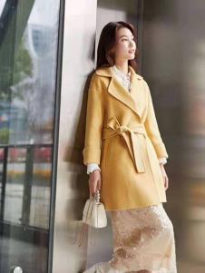 碧成萱2019冬季女装风衣