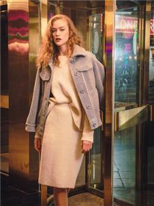 JA蓝色外套