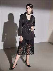 艾米女装黑色套裙