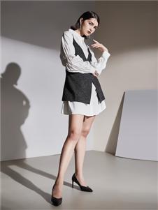艾米女装白色衬衣