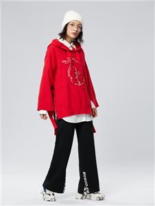 木果果木女装2019新款长款卫衣