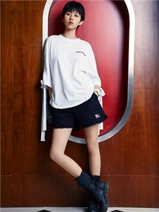 木果果木女装2019新款黑色短裤