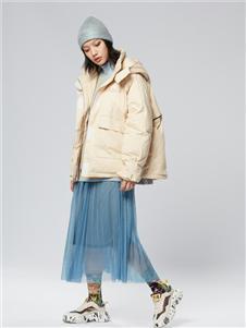 木果果木女装2019新款羽绒服外套