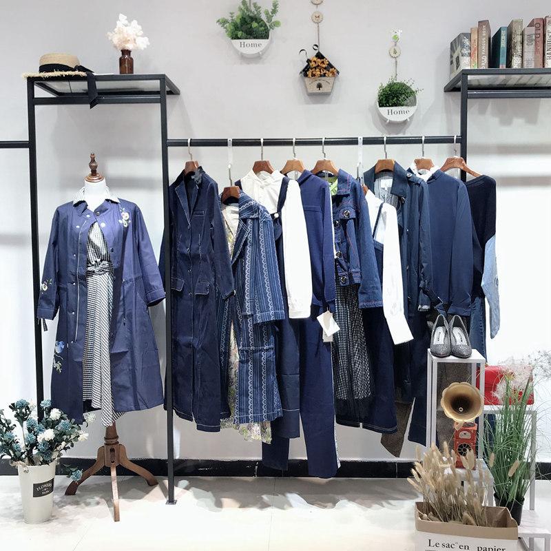芮玛深圳原创设计师品牌折扣女装厂家直销尾货货源