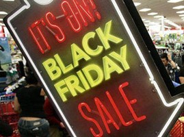 """电商冲击:美国""""黑色星期五""""的疯狂抢购不见了"""
