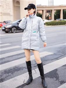 藏九女装2019新款羽绒衣
