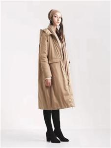 阿莱贝琳女装卡其色外套 款号368159