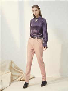 菀草壹紫色上衣