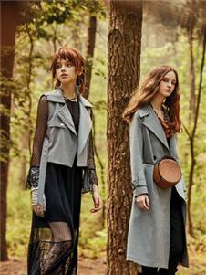 妍帛女装妍帛女装灰色外套