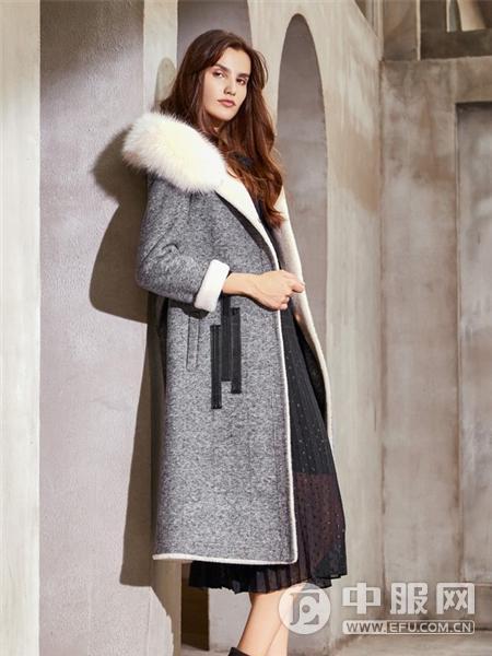 卡蔓女装2019新款大衣