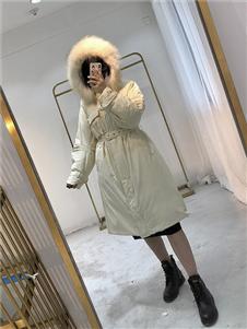 靚客秋冬新款時尚氣質羽絨服