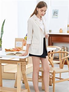 朵以女装朵以女装白色西装外套