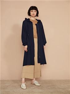 F/SHiNE方示新款纯色风衣