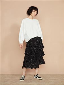 F/SHiNE方示新款白色卫衣