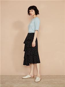 F/SHiNE方示新款不规则半身裙