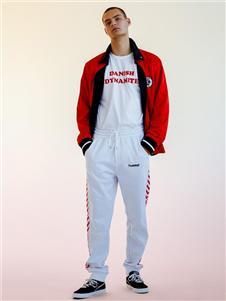 Hummel秋冬新款红色外套