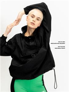 Hummel秋冬新款黑色外套