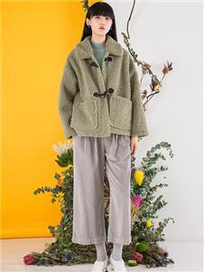 芙纯女装芙纯女装羊羔绒外套