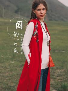 袯荟2019冬女装红色马甲