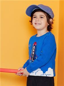 安奈儿童装火箭毛衣