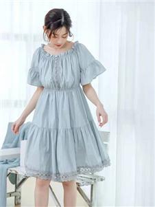 亦抒女装新款连衣裙
