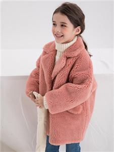 安米莉AMILRIS童装加绒外套