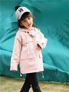 小猪宾果童装小清新韩版宽松休闲外套