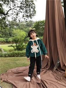 小猪宾果童装韩版洋气卫衣