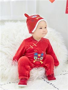 英氏童装保暖连体裤