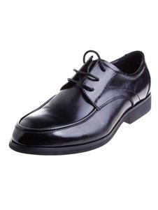 柏圖仕黑色皮鞋