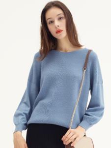 范劳伦女装品牌 灰蓝