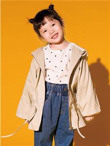 快乐精灵童装新款女童外套