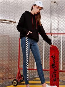 右道女装新款牛仔裤