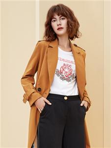 朗蔻女裝新款時尚大衣