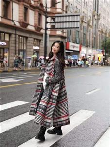 Kahloooo女装长款大衣