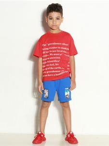 时尚小鱼童装时尚小鱼T恤