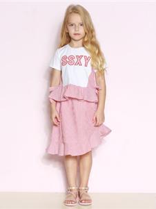 时尚小鱼童装时尚小鱼连衣裙