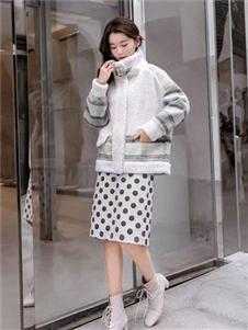 布達佩斯女裝羊羔絨外套