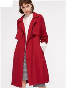 韓亞軒女裝紅色大衣