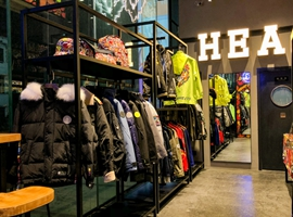HEA潮牌进驻广州粤海仰忠汇,明年将布局超100家门店