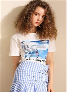 我本布衣女装格子短裙