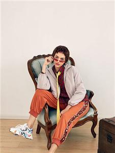 Rorrisa橘色工装裤