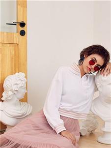 Rorrisa粉色纱裙