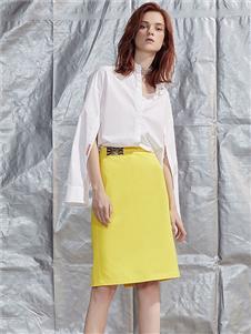 五秒女装五秒女装黄色半身裙