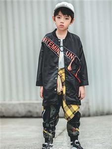 维尼叮当童装春款男童外套