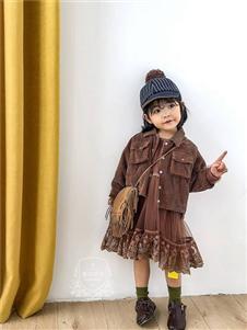 维尼叮当童装春款短款外套